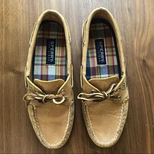 Leather Sperry Top Sider Original Boat Shoe, 9M
